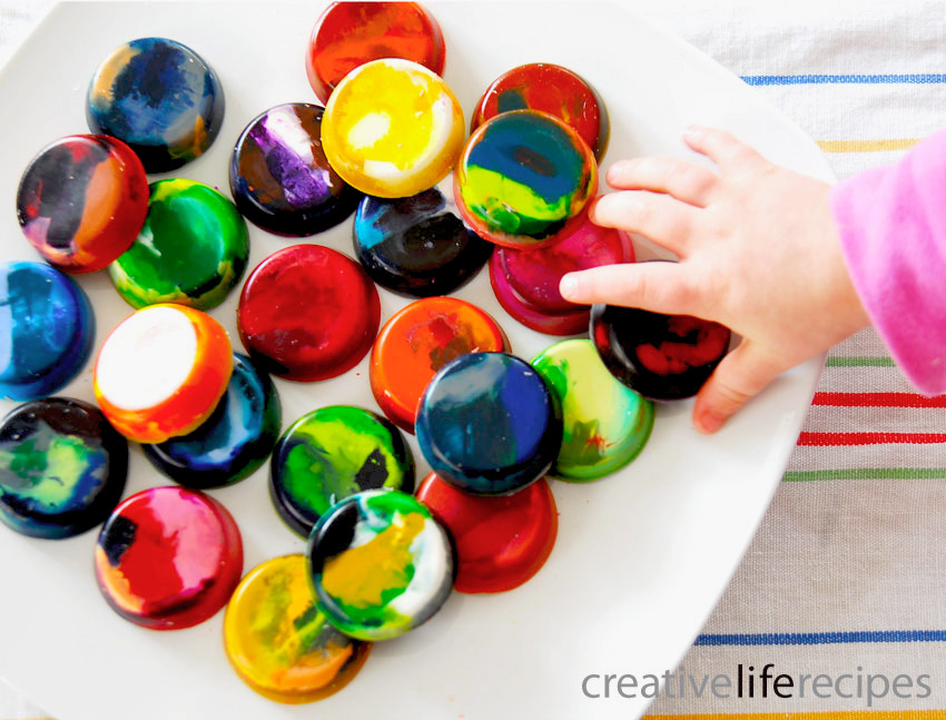 Child-Reaching-For-Make-Your-Own-Crayons-Creative-Life-Recipes