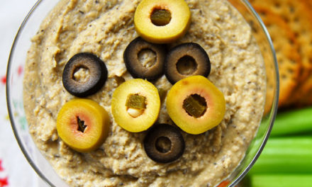 Dirty Martini Hummus
