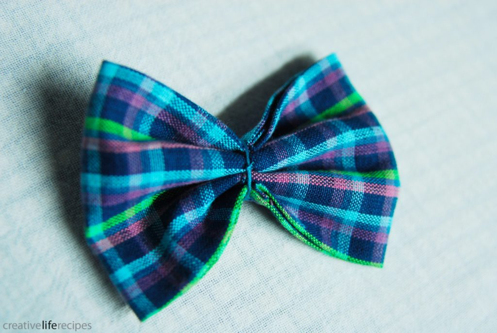 Bowtie or Bowtie Headband Knot Thread Around Bow To Secure Shape Creative Life Recipes Logo