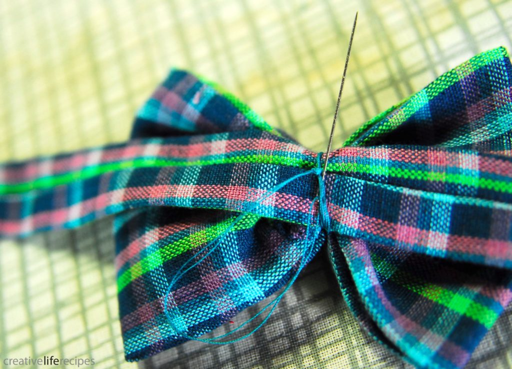 Bowtie or Bowtie Headband Knot Thread Creative Life Recipes Logo