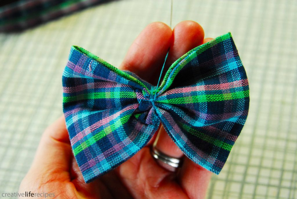 Bowtie or Bowtie Headband Knot Thread of Bow Creative Life Recipes Logo