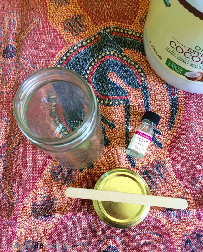 Coconut Peppermint Toothpaste
