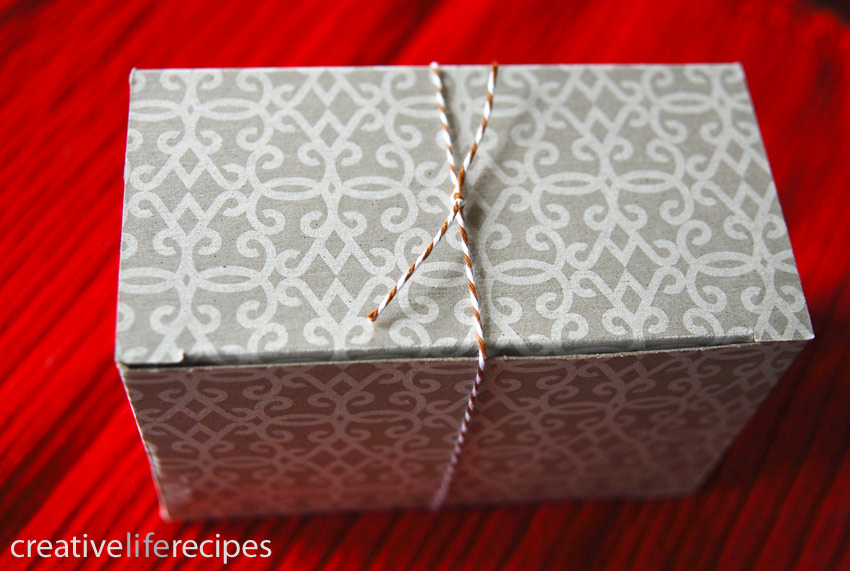 Turn Box Inside Out Gifts Creative Life Recipes