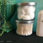 Repurpose Candle Jars Into Storage Jars