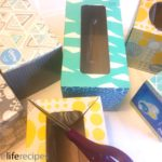 Repurpose Tissue Boxes Into Colorful Storage Bins