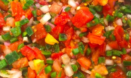 Pepper and Tomato Garden Salsa