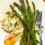 Herb Barley with Roasted Asparagus